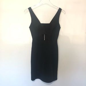Topshop Sleeveless Little Black Mini dress cut out